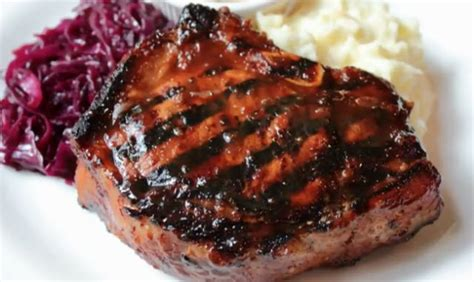 How To Cook L Chops by Barbecue Grilled Pork Chops