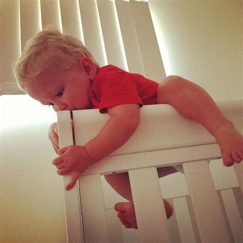 keep baby from climbing out of crib keep baby from climbing out of crib how to keep baby