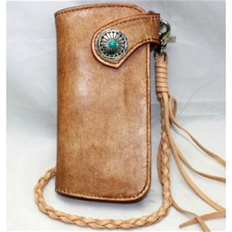 Handmade Leather Coin Purse - handmade leather biker wallet leather coin purse bagswish
