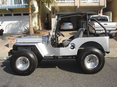 1950s Jeep Quinn S 1950 M 38 Willys Jeep