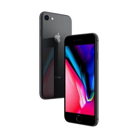 talk apple iphone 8 plus with 64gb prepaid smartphone space gray walmart