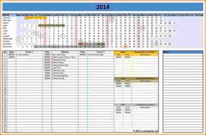 Ms Office Calendar Templates by Microsoft Excel Calendar Template 2014 Linear Calendar