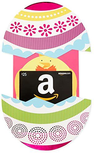 Revel Gift Cards - amazon com 25 gift card in a easter egg reveal classic black card design amazin