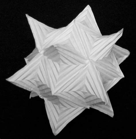 Hyperbolic Origami - origami a blend of sculpture and mathematics science