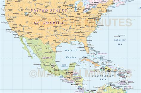 america map simple map of and central america kelloggrealtyinc