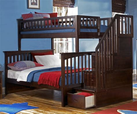 staircase bunk bed columbia staircase bunk bed bedroom