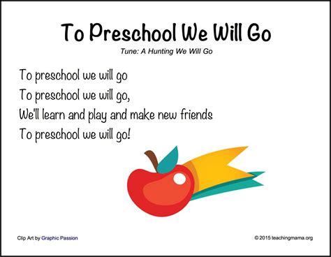 song preschool back to school songs for preschoolers