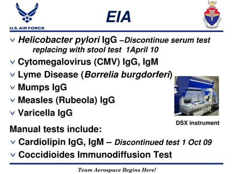 Stool Eia by Ppt Usafsam Epidemiology Laboratory Service Powerpoint