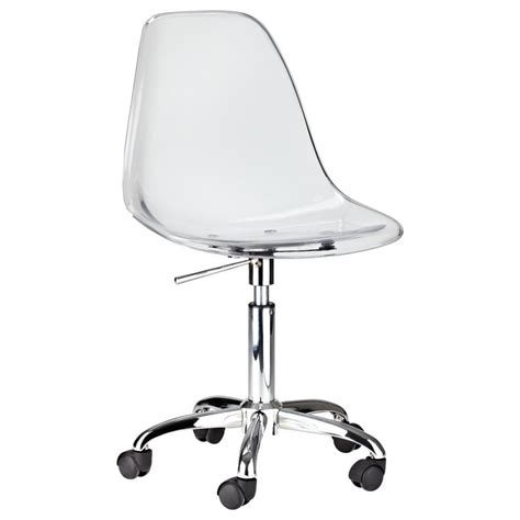 clear plastic desk lucite desk chairs home design
