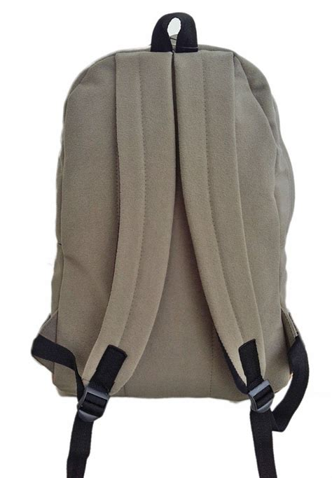 zilla suede unisex backpack tas ransel suede quality