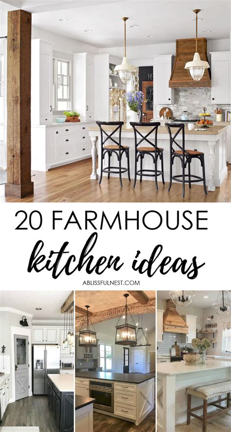 farmhouse blog 20 farmhouse kitchen ideas for fixer upper style