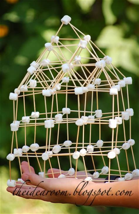 toothpick house frugal summer fun build a marshmallow toothpick house