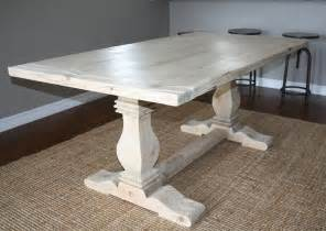 custom wood dining room tables custom reclaimed wood trestle table by santini custom