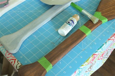 How To Make Paper Look And Worn - diy wall decor ballard designs wooden oars knock