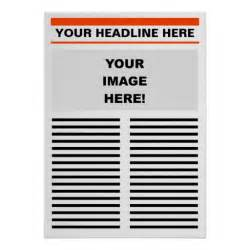 make your own templates best photos of create my own newspaper template