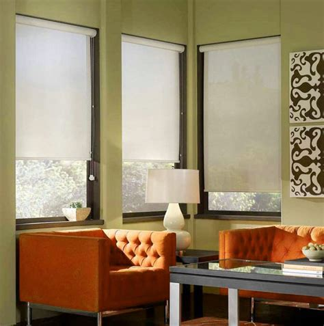 Pull Down Window Blinds Rice Paper Pull Down Window Shades For Nice Lighting