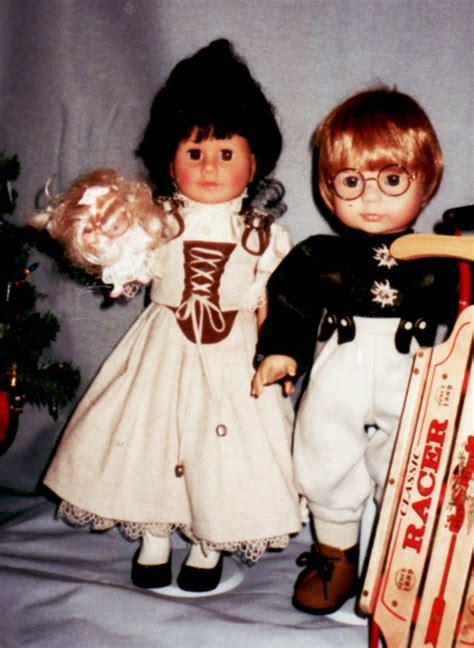 gretchen heber dolltayloring doll scene history