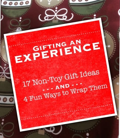 100 christmas gift experience ideas 10 best money