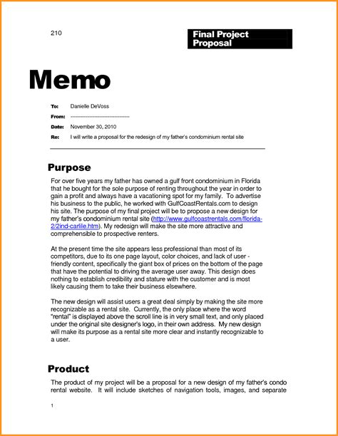 6 business memo exle cook resume