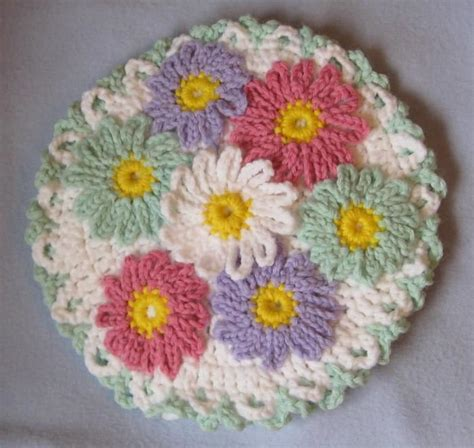 pattern crochet daisy 7 daisy crochet knitting patterns for you your home