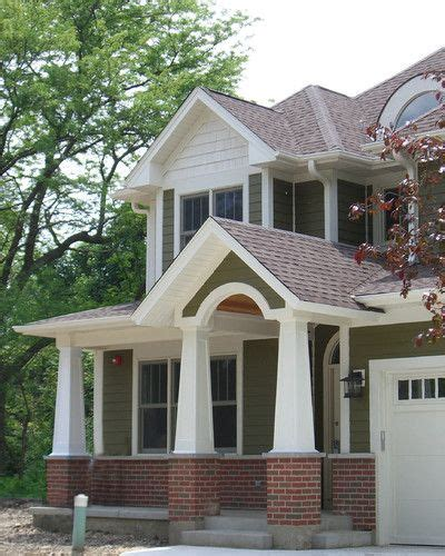 red brick house color schemes olive green white red brick exterior house colors new