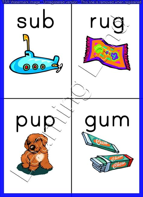 4 Letter Words All Vowels vowels with a e i o u three letter words flashcards