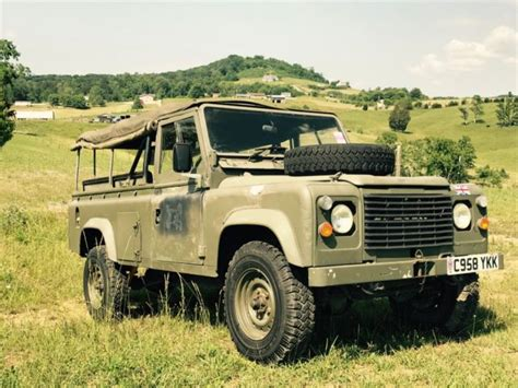 1986 Military Land Rover Defender 110 For Sale Land