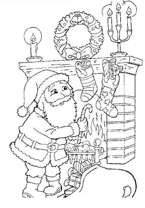 giochi di babbo natale porta i regali babbo natale da colorare disegni gratis