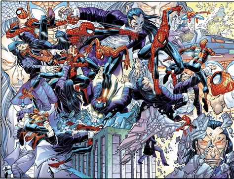 Spideys Entourage by My Screens 187 Spider Par Jm Straczynski Et Romita Jr