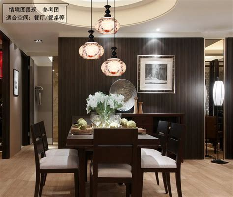 How Large Should A Dining Room Light Fixture Be Modern Ceramic Lotus Three Large Shade Bar Restaurant