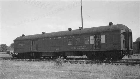 Frisco Post Office by Frisco Railway Post Office Car 214