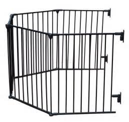 Room Divider Playpen - baby child hearth gate room divider safety guard metal play pen 5 panel black ebay