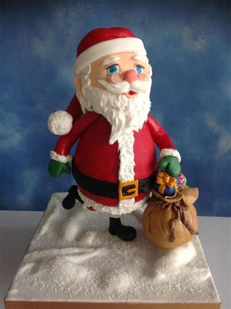 How To Make A 3d Santa Out Of Paper - looking for cake decorating project inspiration check out