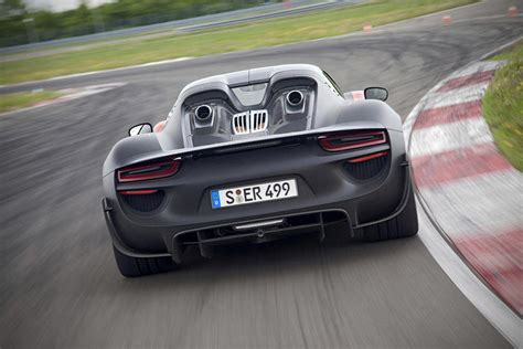 porsche hybrid supercar 2015 porsche 918 spyder hybrid supercar goes official