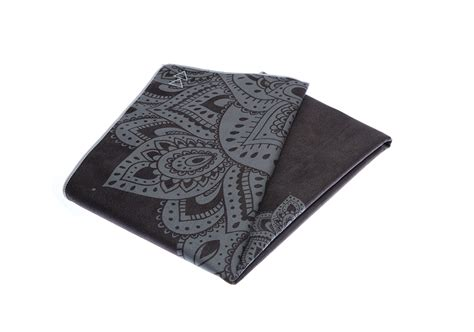 design lab mat mat towel mandala black au