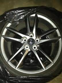 ca 18 quot lexus f sport rims with tires is250 oem clublexus