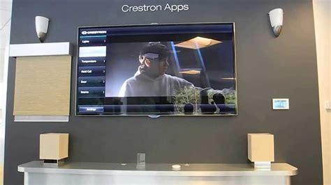 home automation and a v services crestron home automation app for samsung smart tv youtube