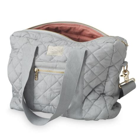And Leo Baby Bag by Leo Nursing Baby Bag Grey