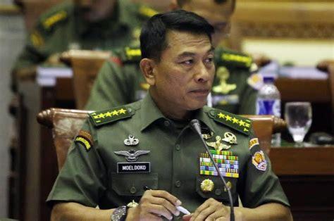 Jam Tangan Panglima Tni Jenderal Moeldoko heboh media singapura bahas koleksi jam tangan mewah panglima tni jenderal moeldoko berita