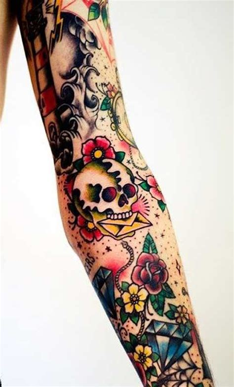 39 school tattoos on sleeve