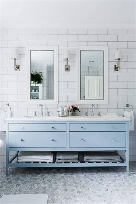 His Cabinetry 25 Best Ideas About Blue Vanity On Master
