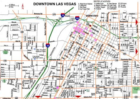 map of the las vegas 12 best las vegas maps images on maps cities and city maps