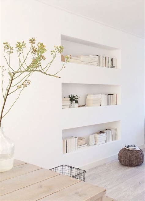 oasis inspiration recessed shelves built ins and the wall