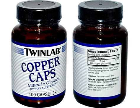Copper Detox Supplements by Anti Aging Supplements Whole Food