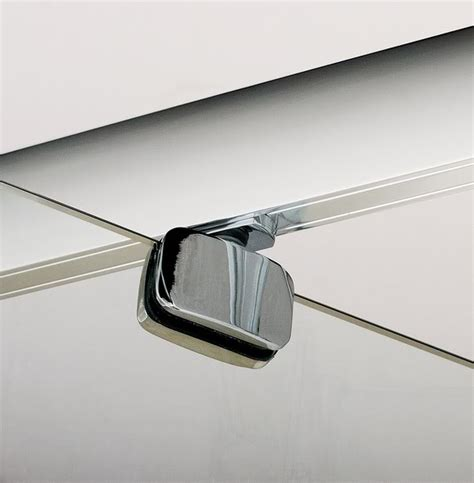 Two Panel Sliding Shower Bath Screen pivot hinge shower enclosure 6mm glass screen cubicle door