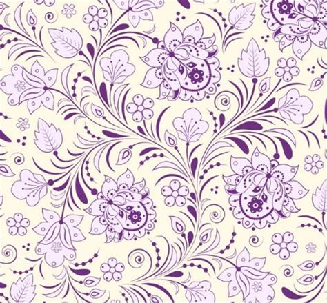 pattern vector elegant free elegant hand drawn flowers pattern vector 01 titanui