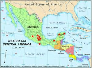 map of sw us and mexico orange county church of southwestern mexico family