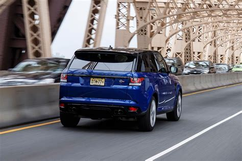 range rover back 2016 2016 land rover range rover sport svr first drive review