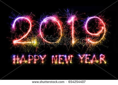 new year 2019 malaysia happy new year 2018 colorful sparkle stock photo 520060576
