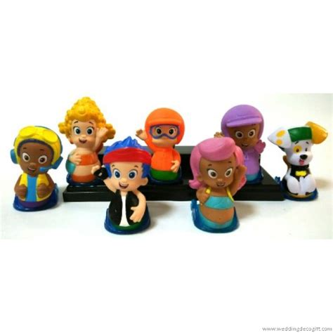 toy bubble guppies figures cake topper bubble guppies